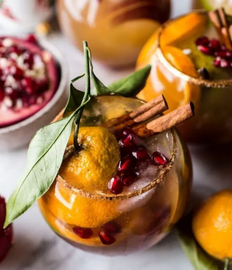 Christmas Sangria #drink #sangria #cocktail #easy #recipes
