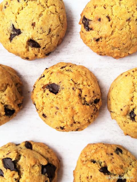 Amerykańskie ciasteczka z czekoladą pieguski przepis