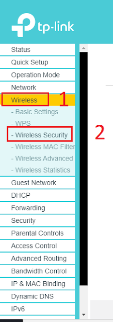 Cara Mengganti Password WIFI Rumah - Menu Router