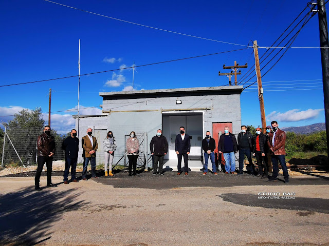 Μαρία Ράλλη: Ήταν δέσμευση μας για υδροδότηση του Αραχναίου με καθαρό πόσιμο νερό, έγινε πράξη