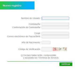 Registro Neobux
