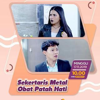 Pemain ftv Sekretaris Metal Obat Patah Hati