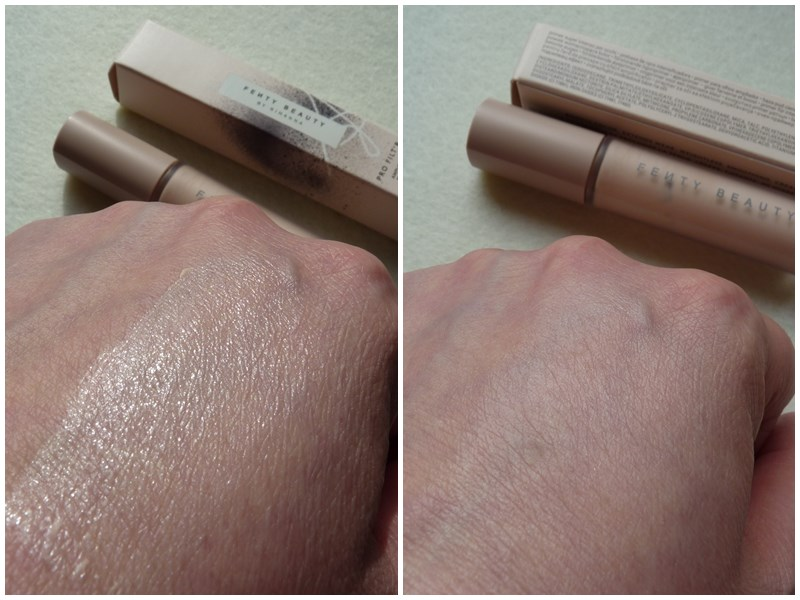 Fenty Beauty Pro Filt'r Amplifying Eye Primer swatch swatches