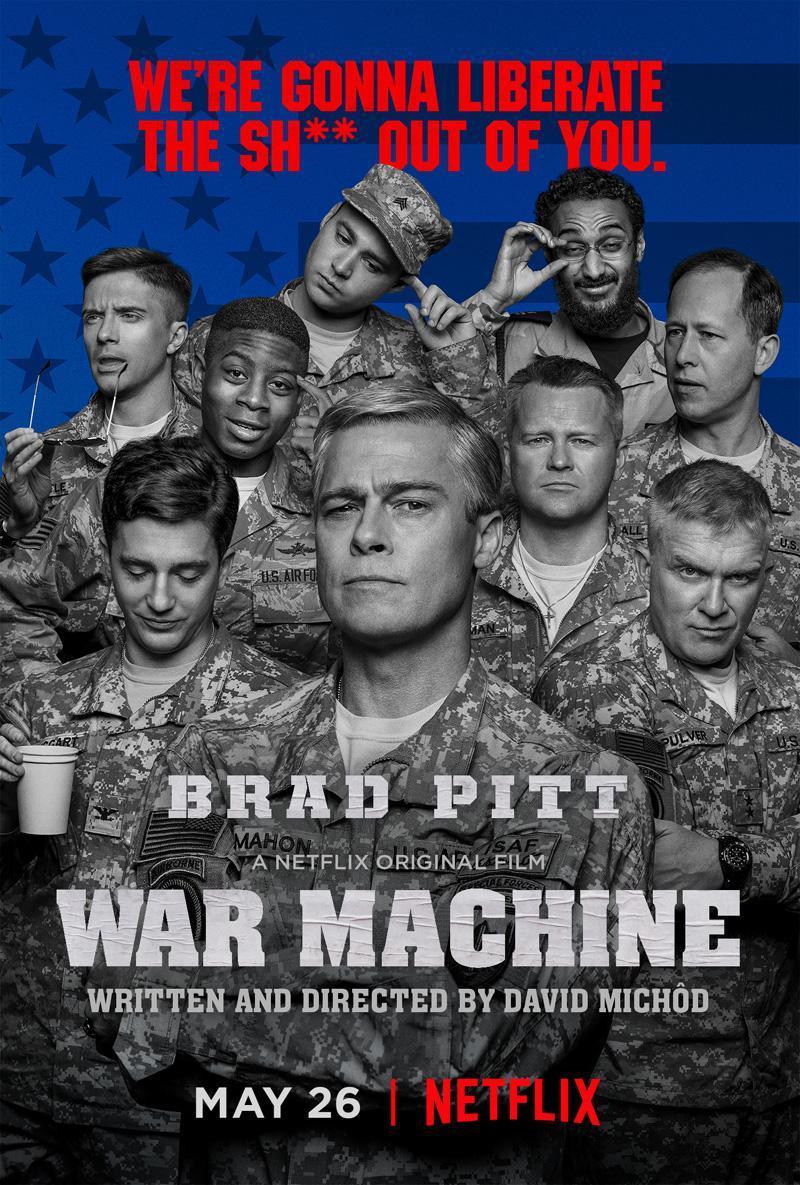 Download War Machine (2017) Full Movie in Hindi Dual Audio BluRay 720p [1GB]