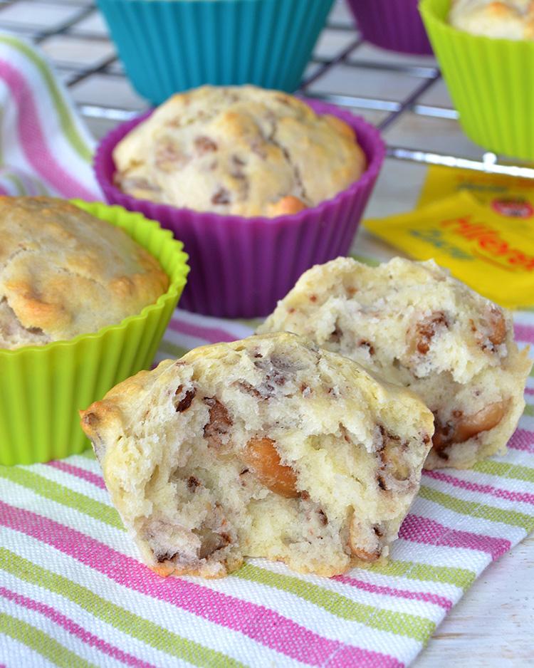 Muffins con frutos secos sin azúcar