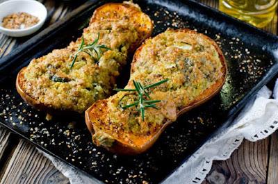 Courgettes à la viande de soja: recettes végétaliennes