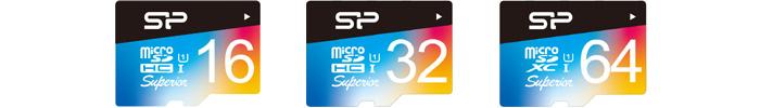 シリコンパワー(Silicon Power)microSDカードの上位モデル「Superior」
