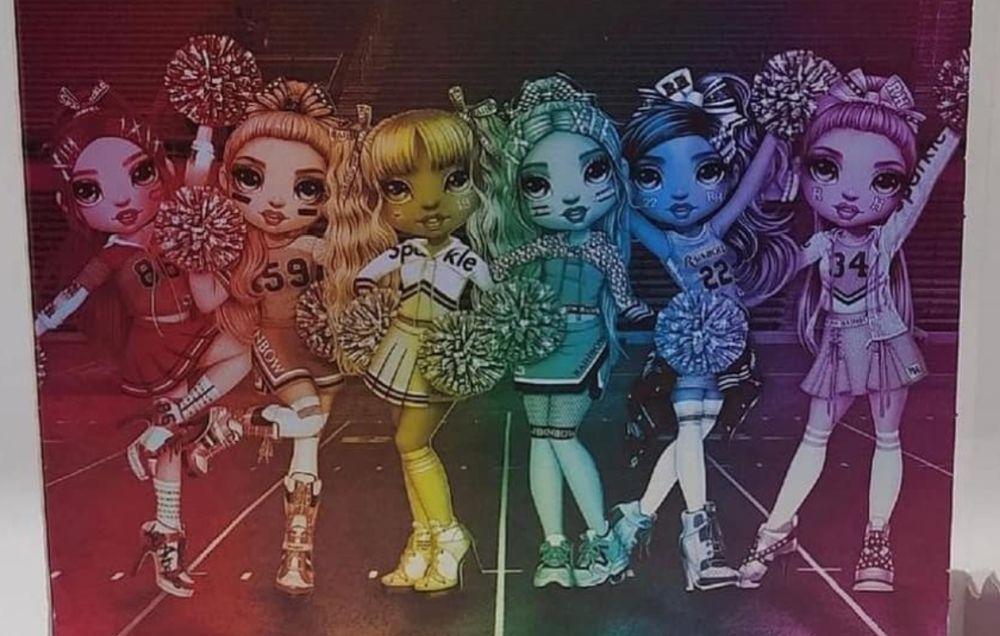 Чирлидеры Rainbow High Cheer Doll