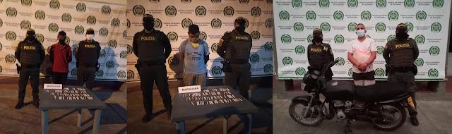 hoyennoticia.com, Batida en Maicao: cayeron dos jíbaros y un ladrón de motos
