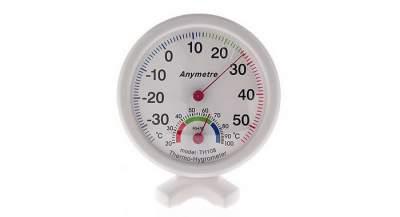 Analog Thermometer Hygrometer TIPE 108