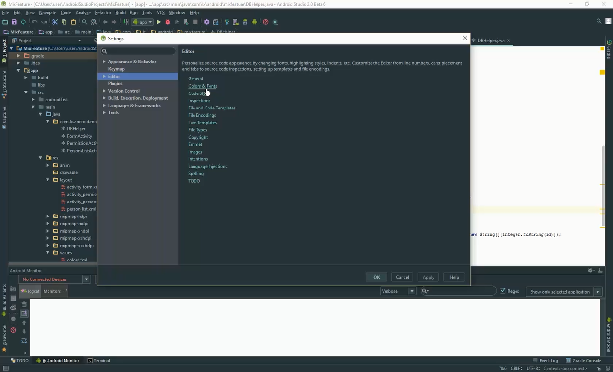 Android Studio Theme - Material Theme for the IDE