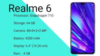 Realme 6 Full Spesifications