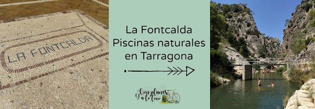 piscinas naturales de la Fontcalda en Tarragona