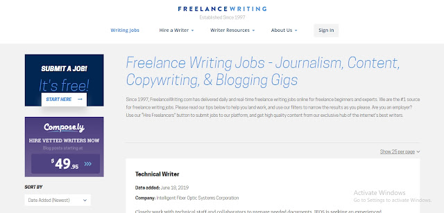 Freelance Jobs Websites