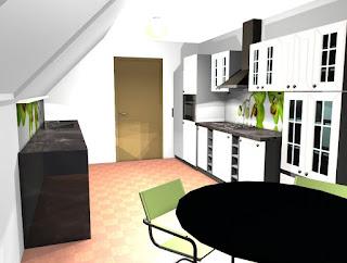 Hiša v Mariboru - dnevna soba z jedilnico.