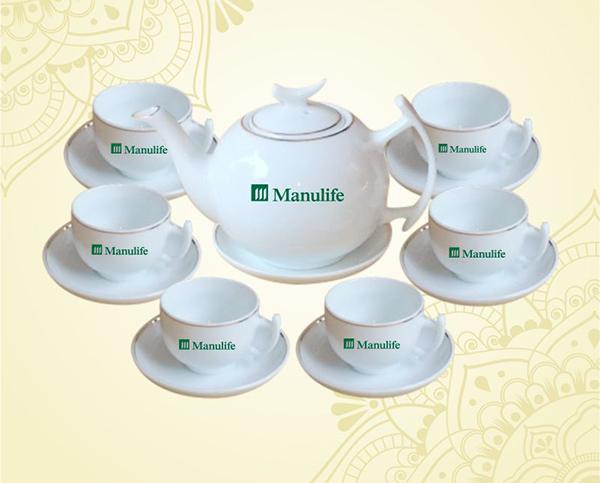 Bộ ấm chén trà Minh Long