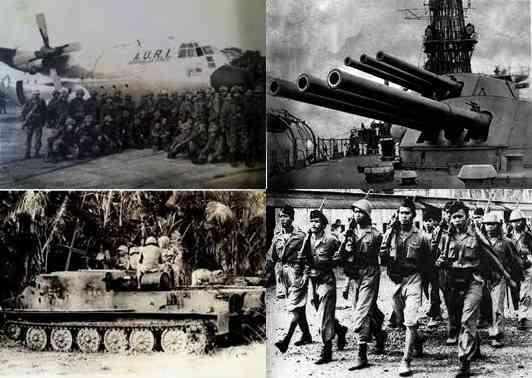 Gambar Bukti kekuatan militer Indonesia era tahun 1960 masa presiden Soekarno