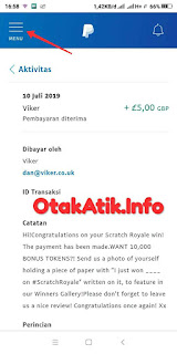payment proof convert