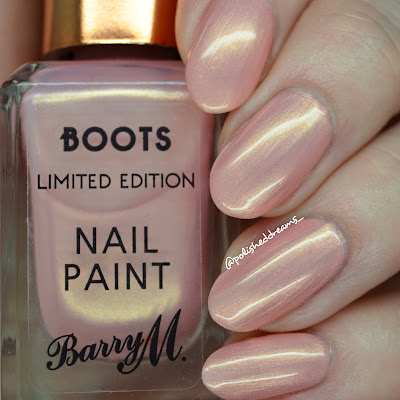 Barry M Boots Limited Edition Carriage Awaits