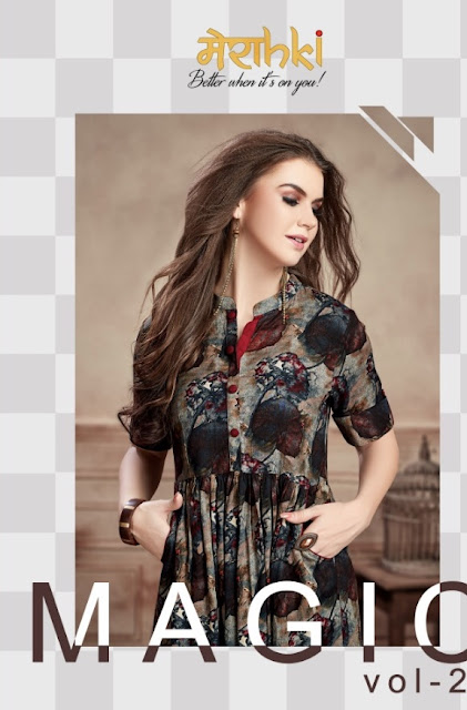 Maraki magic vol 2 kurtis Wholesaler