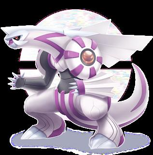 Palkia Pokémon Brilliant Diamond e Shining Pearl