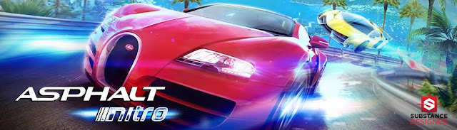 Asphalt Nitro: The most intense racing game, 25 MB of pure velocity!