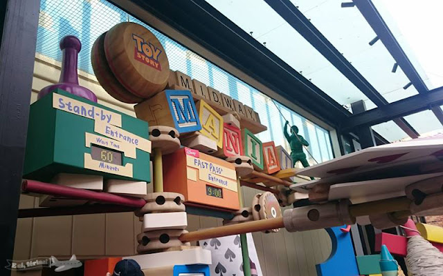 Toy Story Midway Mania, Disney's Hollywood Studios