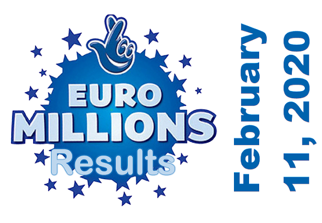 EuroMillions Results for Tuesday, February 11, 2020