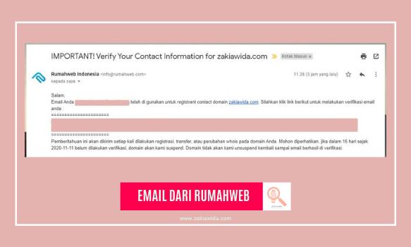 Email dari rumahweb