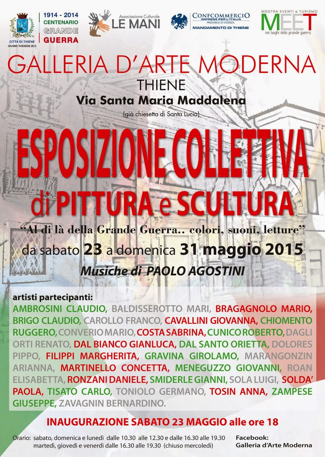 MOSTRA COLLETTIVA A THIENE (VI)
