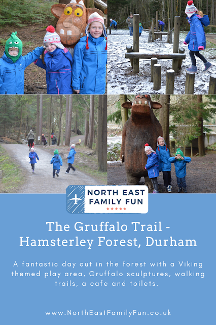 The Gruffalo Trail - Hamsterley Forest, Durham