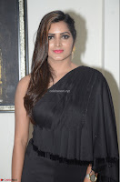 Pavani Reddy in Black Saree Sleeveless Choli ~  Exclusive 14.JPG