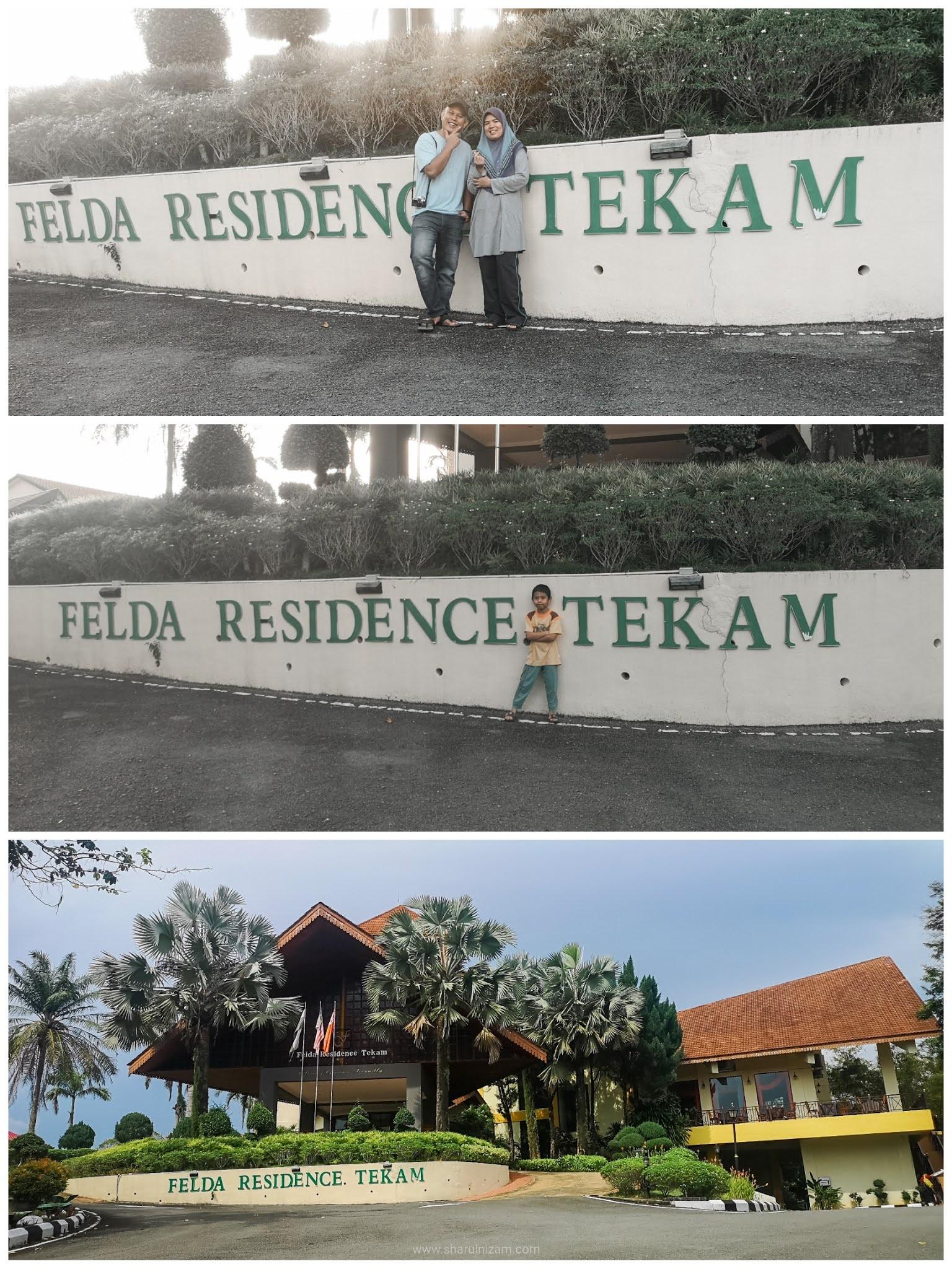 Percutian Keluarga 2H1M Di Felda Residence Tekam, Jerantut, Pahang