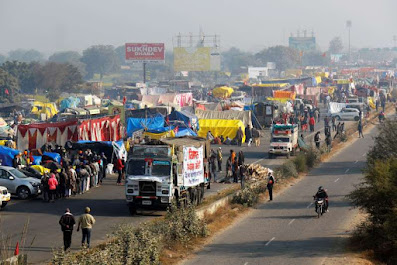 Farmers in India agree to meet with the government about the new laws they want to repeal