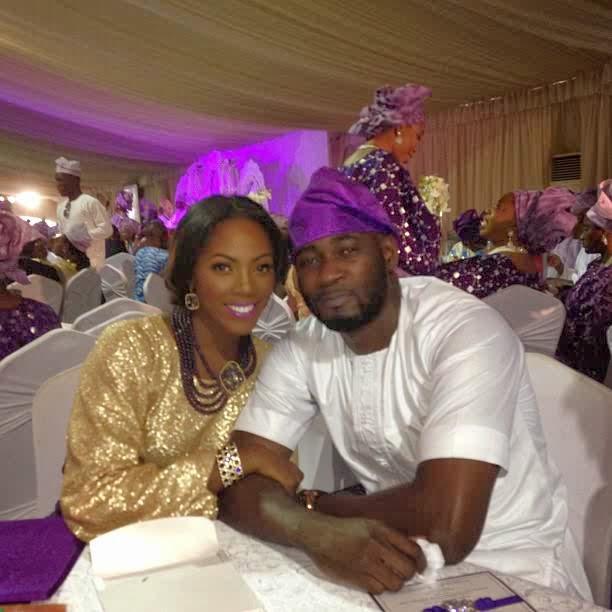 Tiwa savage n Teeblizz Dubai wedding details n ivitation card