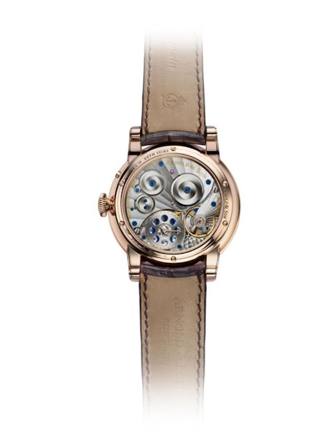 HM Perpetual Moon gold case back