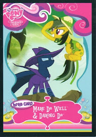 My Little Pony Mare Do Well & Daring Do Series 1 Trading Card