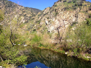 San Gabriel River above El Encanto Azusa River Wilderness Park, Angeles National Forest