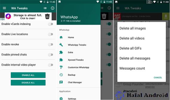 WhatsApp MOD WA Tweaker