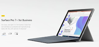 Microsoft Surface Pro 7+ price