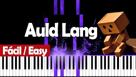 Auld Lang Syne - Piano PDF - Notas musicales
