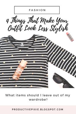 4 Things That Make Your Outfit Look Less Stylish