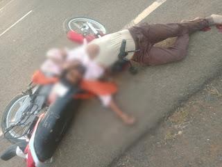 सड़क हादसा: कार-बाइक की भिड़त 2 युवक गंभीर रूप से घायल