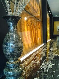 Marble Nero Portoro Silver vs Golden Crystal Onyx