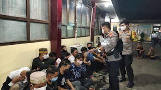 Polres Pelabuhan Makassar Amankan Remaja yang Konvoi Takbiran Ditengah Pandemi