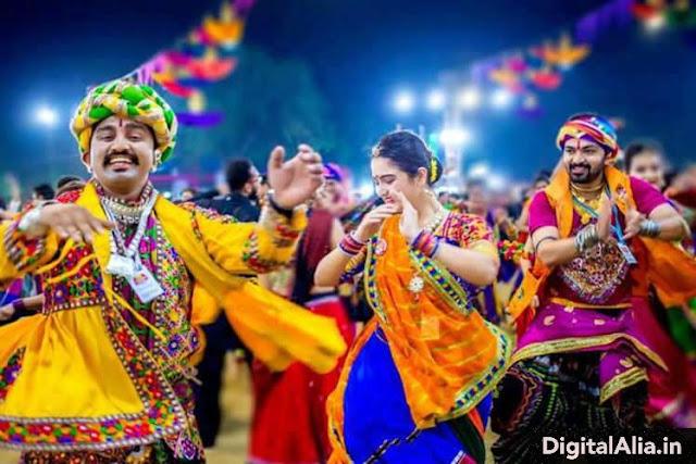 navratri celebration images