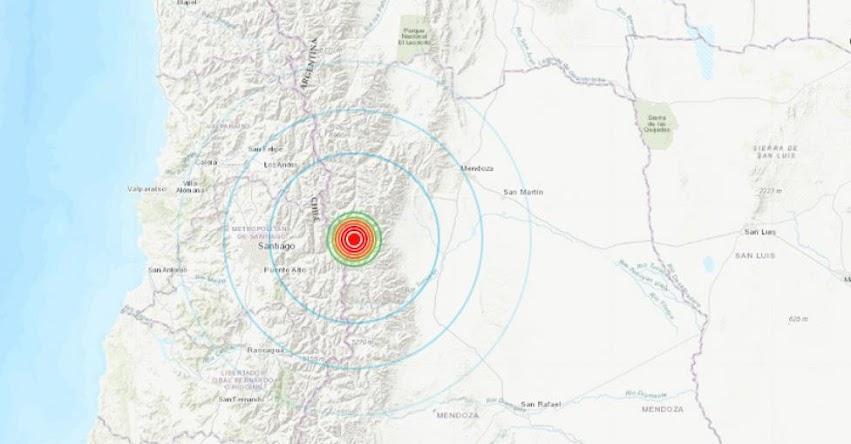 Sismo en Argentina de Magnitud 4.4 (Hoy Jueves 25 Octubre 2018) Temblor Epicentro - Mendoza - INPRES - www.inpres.gob.ar