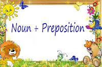 Noun + Preposition