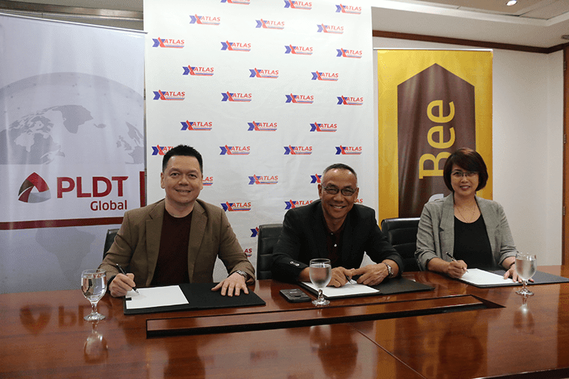 PLDT Global and ATLAS Express Padala team up for Free Bee