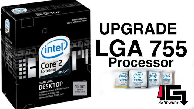 Desain Grafis Pakai Komputer Kentang | Upgrade Prosesor LGA 775 Terrtinggi